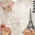 Adesivo Quadrado 15x15 Flores Paris LAQXV-21 - Litocart