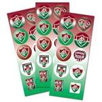 Adesivo Redondo Fluminense C/ 30 Unidades