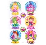 Adesivo Shaker Globo Princesas - Ad1458 - Toke e Crie