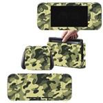 Adesivo Skin Nintendo Switch Camuflado Exército Verde