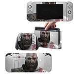 Adesivo Skin Nintendo Switch Kratos God Of War 4