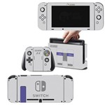 Adesivo Skin Nintendo Switch Super Nintendo Edition