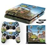 Adesivo Skin Playstation 4 Fat Fortnite