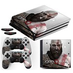 Adesivo Skin Playstation 4 Pro Kratos God Of War 4