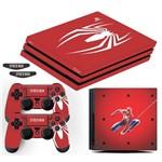 Adesivo Skin Playstation 4 Pro Spider Man Edição Limitada