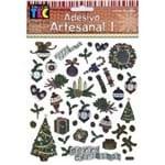 Adesivos Artesanais I Natal Decoração de Natal Ref.10165-AD1028 Toke e Crie