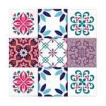 Adesivos de Azulejo Flandres 24 Unidades Grudado Adesivos