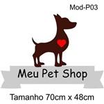 Adesivos de Parede Meu Pet Shop Animal Decorar