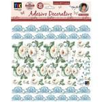 Adesivos Decorativos Toke e Crie Crisântemos Brancos By Mamiko Tdm23 20649