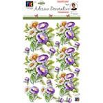 Adesivos Decorativos Toke e Crie Flores de Jardim By Mamiko - 21047 - Tdm28