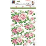 Adesivos Decorativos Toke e Crie Rosas e Folhas By Mamiko - 21046 - Tdm27
