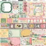 Adesivos Sunshime Bliss Combo Stickers Ref.21148-WER165/7310201 American Crafts