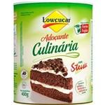 Adoçante Culinária Lata 400g Lowcucar