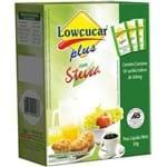 Adoçante Steva Plus 50 Sachês X 6g Lowcucar