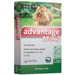 Advantage Max3 (0,4ML) Até 4KG