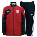 Agasalho : Casaco + Calça Flamengo Adidas - Conjunto de Viagem - X16861 - G