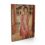 Agenda 2018 - Semanal Mesa - Di Cavalcanti - Menina