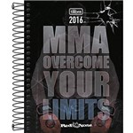 Agenda Diária 2016 Red Nose MMA Overcome Your Limits - Tilibra