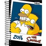 Agenda Diária 2016 Simpsons Foto - Tilibra