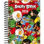 Agenda Diária Angry Birds Colorida Jandaia 352 Páginas Capa Dura - 12 Meses