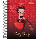 Agenda Diária Betty Boop Betty Sentada no Coração 2016 - Tilibra