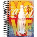 Agenda Diária Coca Cola Amarela Jandaia 352 Páginas Capa Dura - 12 Meses