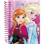 Agenda Diária Frozen Elsa e Anna de Costas Jandaia 352 Páginas Capa Dura - 12 Meses