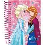 Agenda Diária Frozen Elsa e Anna de Mãos Dadas Jandaia 352 Páginas Capa Dura - 12 Meses