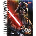 Agenda Diária Star Wars Darth Vader Espada Jandaia 352 Páginas Capa Dura - 12 Meses