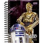 Agenda Diária Star Wars Robôs Jandaia 352 Páginas Capa Dura - 12 Meses