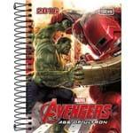 Agenda Diária Vingadores Hulk e Homem de Ferro 2016 - Tilibra