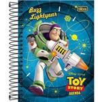 Agenda Escolar 2016 Toy Story Fundo Azul Buzz - Tilibra