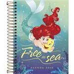Agenda Espiral Diária Princesa Ariel 2019 Tlibra