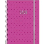 Agenda Espiral Planner Neon Rosa ou Roxo Tilibra