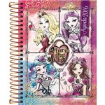 Agenda Ever After High M4 - 4 Personagens 2016 Tilibra