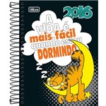 Agenda Juvenil Garfield Fundo Preto 2016 - Tilibra