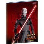 Agenda Permanente 192 Páginas Star Wars Rebels Fundo Vermelho - Jandaia