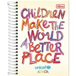 Agenda Unicef Permanente M5 Children Make The World 2016 - Tilibra