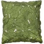 Água de Coco Folhas Soltas Almofada 50 Cm Verde Escuro