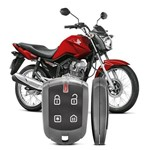 Alarme para Moto Pósitron Duoblock Fxg6 Honda Cg Fan 2005 a 2016 Função Presença