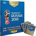 Álbum da Copa do Mundo Rússia 2018 com Capa Dura + 60 Figurinhas