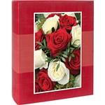 Álbum Floral Ical Ferragem 200 Fotos Vermelho