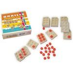 Alfabeto/numeração Braille Vazados 15 Peças Carlu