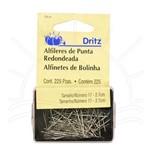Alfinetes de Bolinha Dritz 33LA - 225 Unidades
