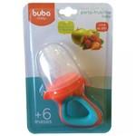 Alimentador Porta Frutinha Baby Azul Buba 09743