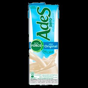 Alimento com Soja Ades Original Zero 1l