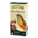Alimento Extrusado Sabiá e Pássaro Preto Eco Club 500g