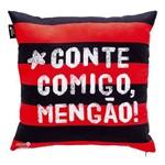 Almofada 40X40 com Porta Objetos - Flamengo