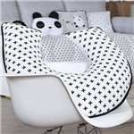 Almofada Amamentação Panda Preto