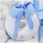 Almofada Amamentação Teddy Lovely Azul